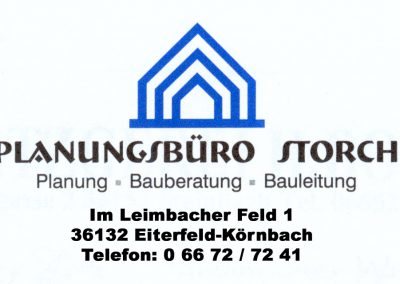 Planungsbüro Storch