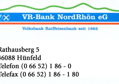 VR Bank Nordrhön