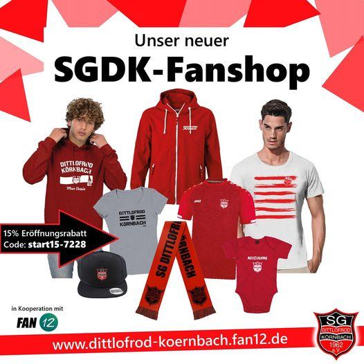 SGDK-FANSHOP ERÖFFNET